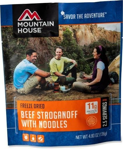 Mountain House Beef Stroganoff Meal Pouch