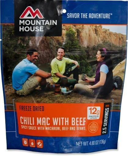 Mountain House Chili Mac & Beef Meal Pouch