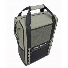 Polar Bear 18 Pack Nylon BackPack Cooler Black