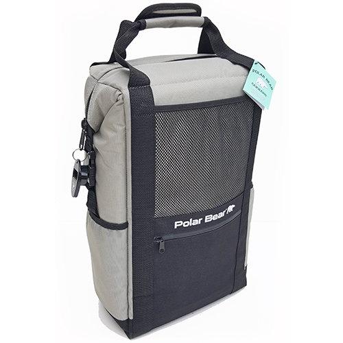 Polar-Bear-Nylon Solar Bear Backpack