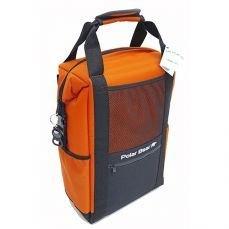 Polar Bear Nylon Backpack Cooler Orange