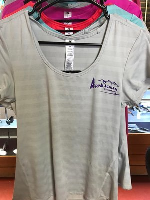 Ladies Appoutga Wicking T- Shirts small grey