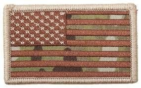 Appoutga's American Flag Patch Multicam