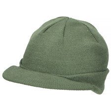 Rothco Beanie Caps With Bill Olive