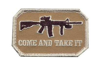 Rothco Come And Take It Patch