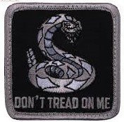 Rothco Dont Tread On Me Square Patch