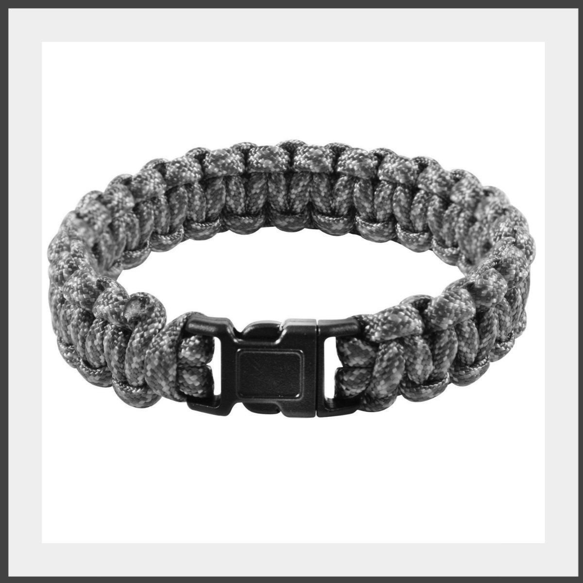 Rothco Multi-Colored Paracord Bracelet 9 inch Foliage Green 932