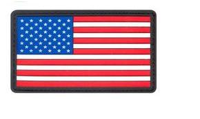 Appoutga's US Flag Patch In Vinyl