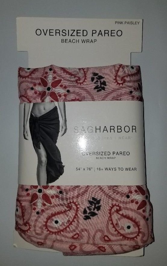 Sag Harbor Oversized Beach Wrap