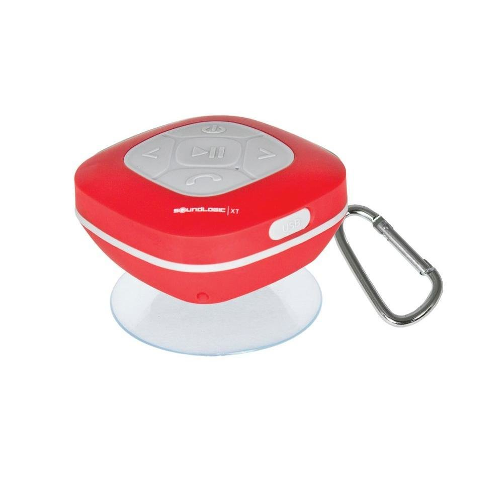 SoundLogic XT Splash Proof Speaker with Fm Radio & Carabiner model # 12/2970