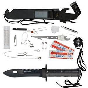 Rothco Deluxe Adventurer Survival Kit Knife 3335