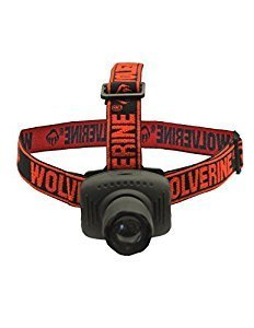 Wolverine 50 Lumen Headlamp (Black Strap)