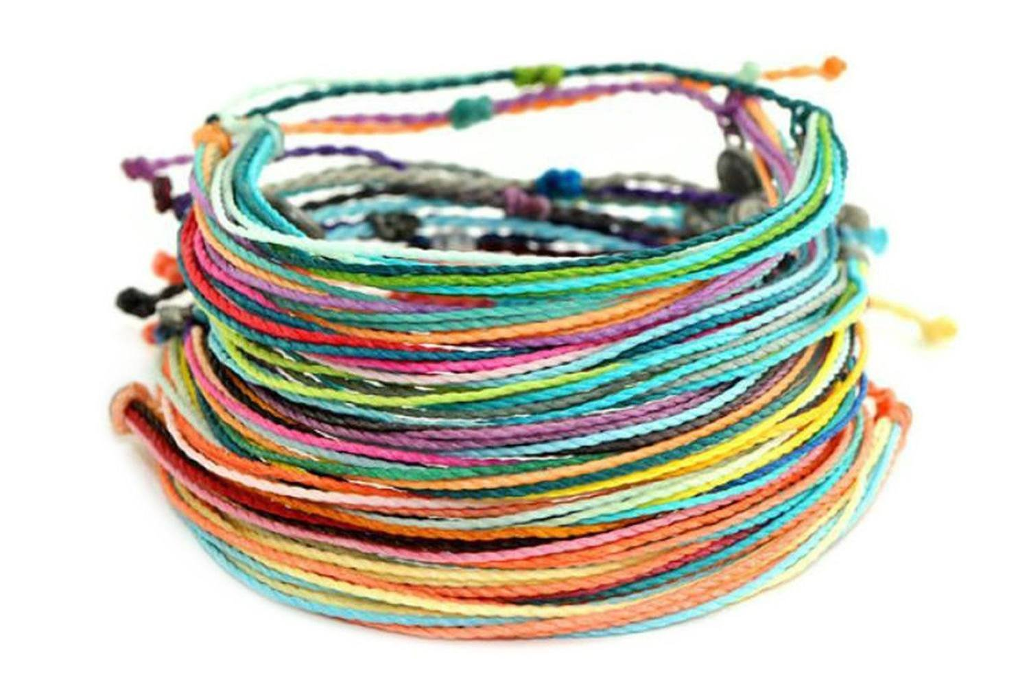 Pura Vida Multi Color Bright Original Bracelets