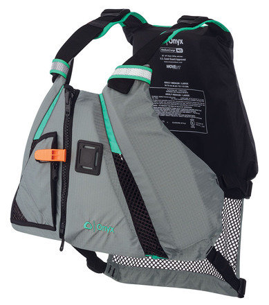 Onyx Paddle Vest PFD Lime/Black X-Small/Small