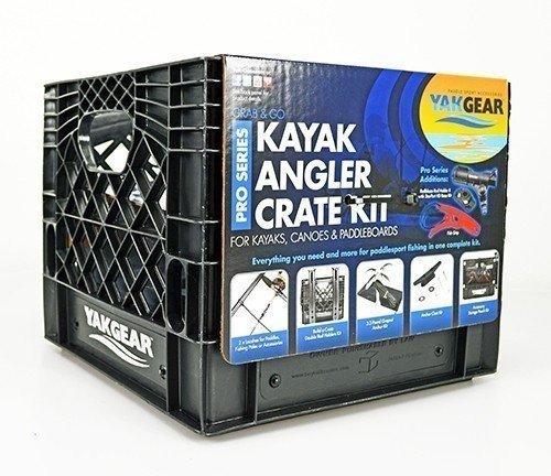 YakGear Kayak Angler Kit in Crate – Pro Series