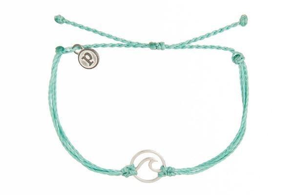 Pura Vida Silver Wave Bracelet Assorted Color