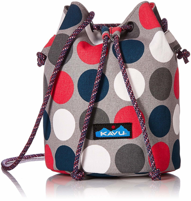 Kavu Bucket Bag Got Dots