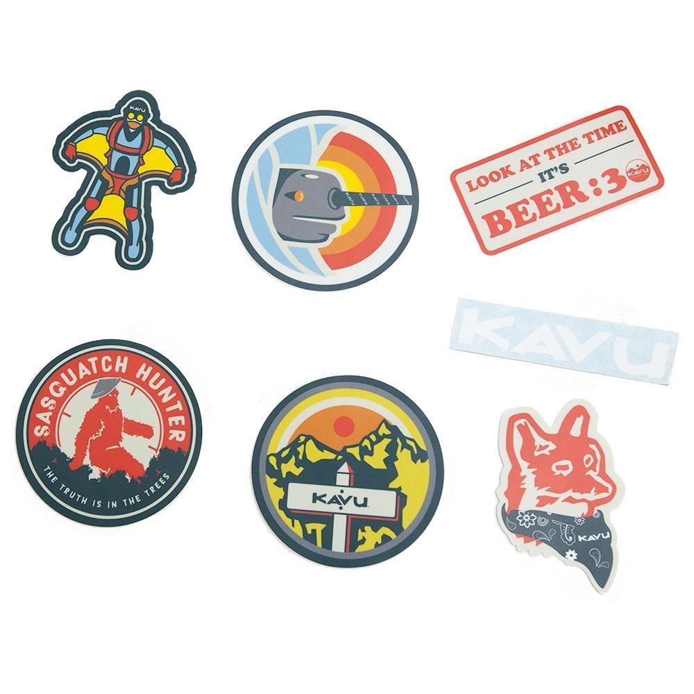 Kavu Sticker Pack Scout Badges