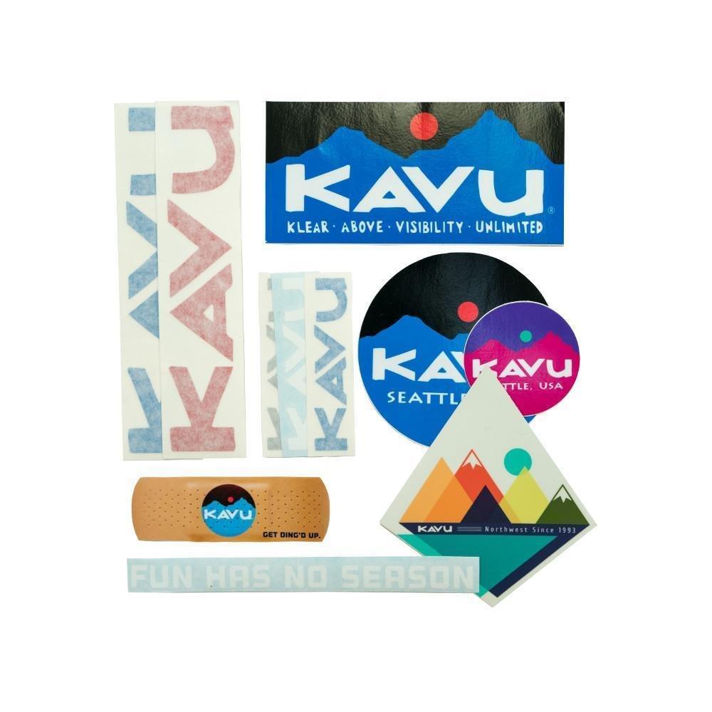 Kavu Sticker Pack Big Bank Boom