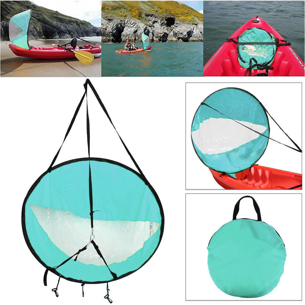 Appalachian Outfitters Kayak & Paddle Board Sail Kit Light Blue