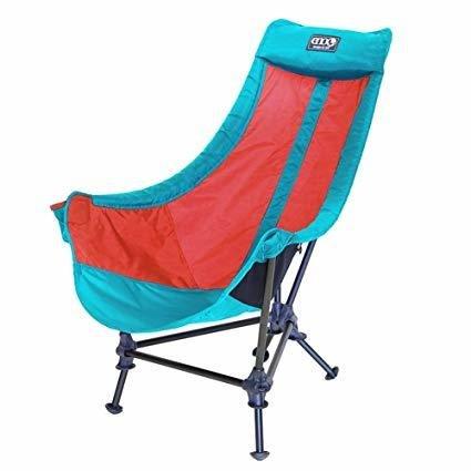 Eno Lounger DL Chair Aqua Red