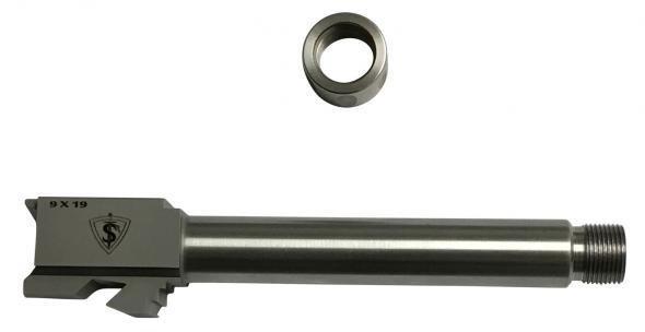 Tac Sup Glock 17 Threaded Barrel