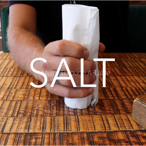 Salt | Push A Salt Seller Through A Solid Object  ( Tutorial in the product details )