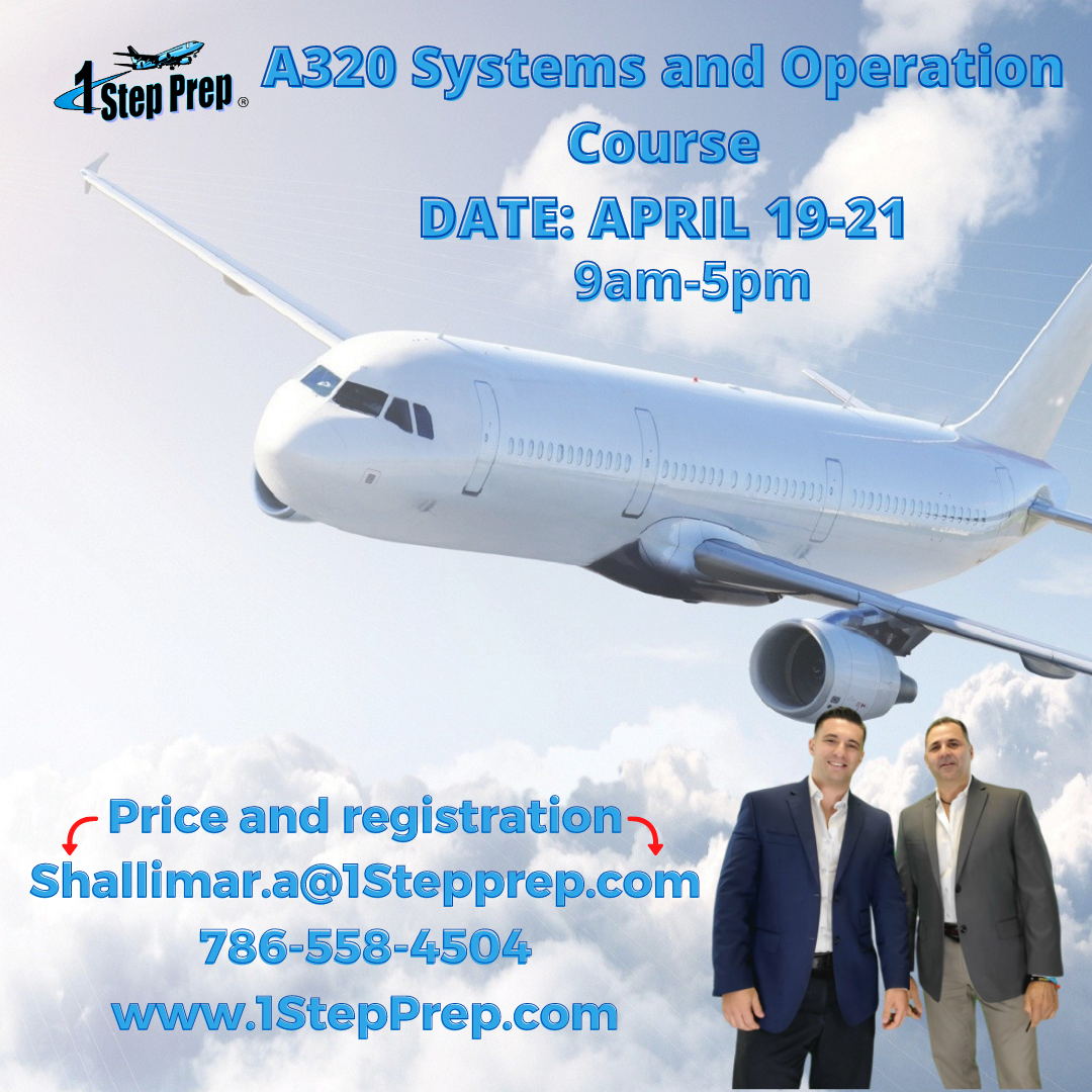 3 DAY A320 COURSE