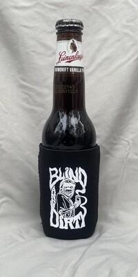 Collapsible premium neoprene bottle/can koozie
