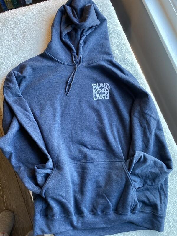 Men's hoodie 2XL heather gray