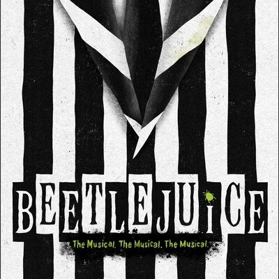 Beetlejuice Workshop with Nancy Renee Braun - 8th graders through Adult