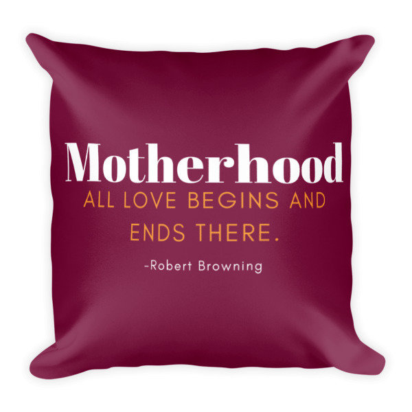 Mother's Day Square Pillow