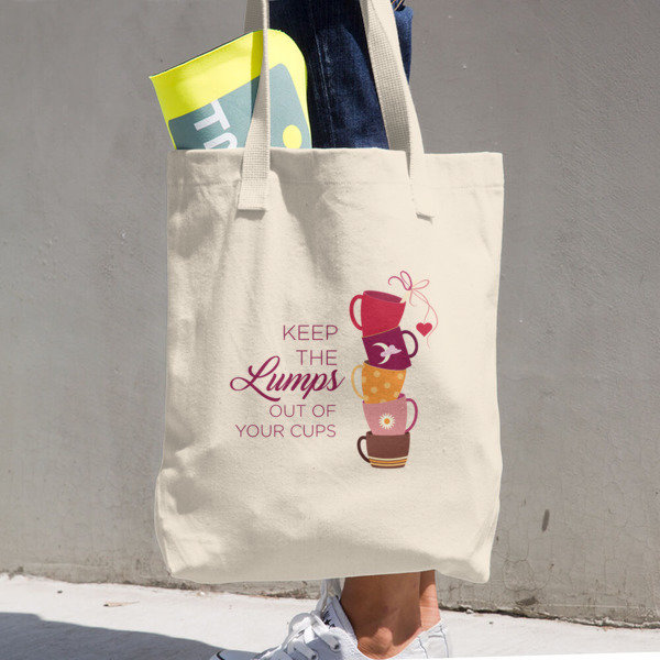 Breast Cancer Awareness Cotton Tote Bag