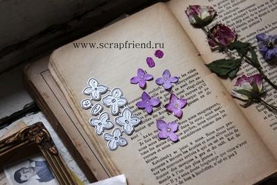 Dies Royal lilac, 0,8-2,4 cm, Scrapfriend