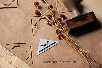 Нож для вырубки Прорези в форме буквы М, Scrapfriend