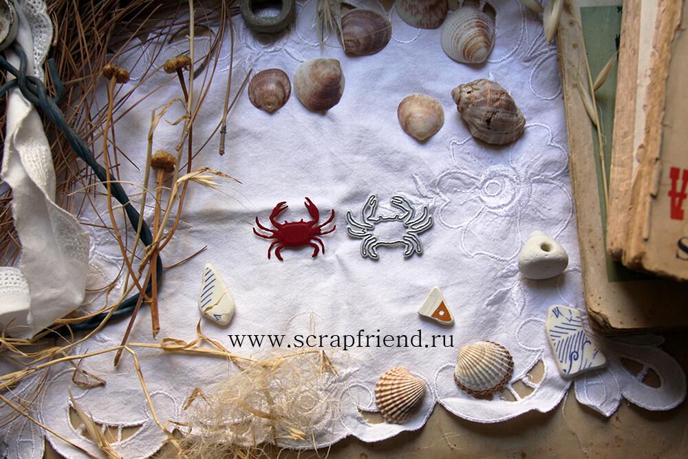 Die Crab, 4x2,5 cm, Scrapfriend