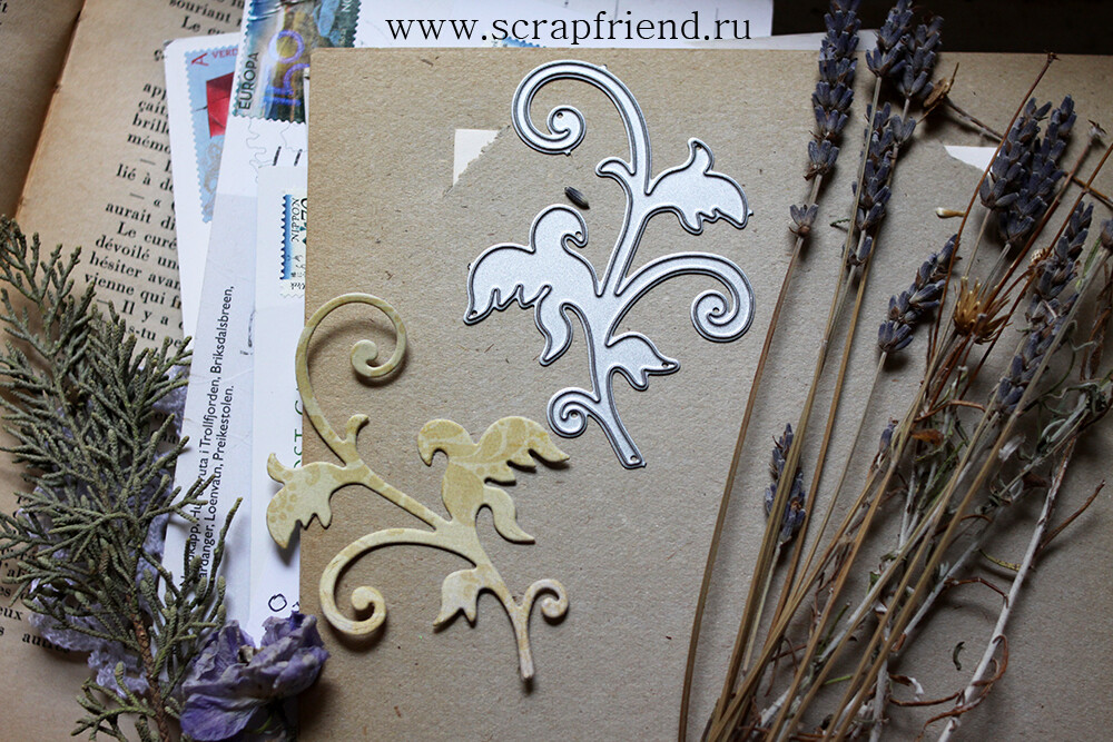Die Swirl, 8x5,5 cm, Scrapfriend
