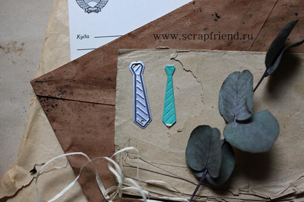 Die Tie, 0,8x3,5 cm, Scrapfriend