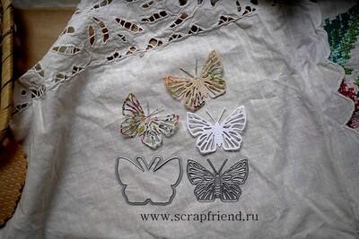 Dies Butterfly, 5,5x4 cm, Scrapfriend
