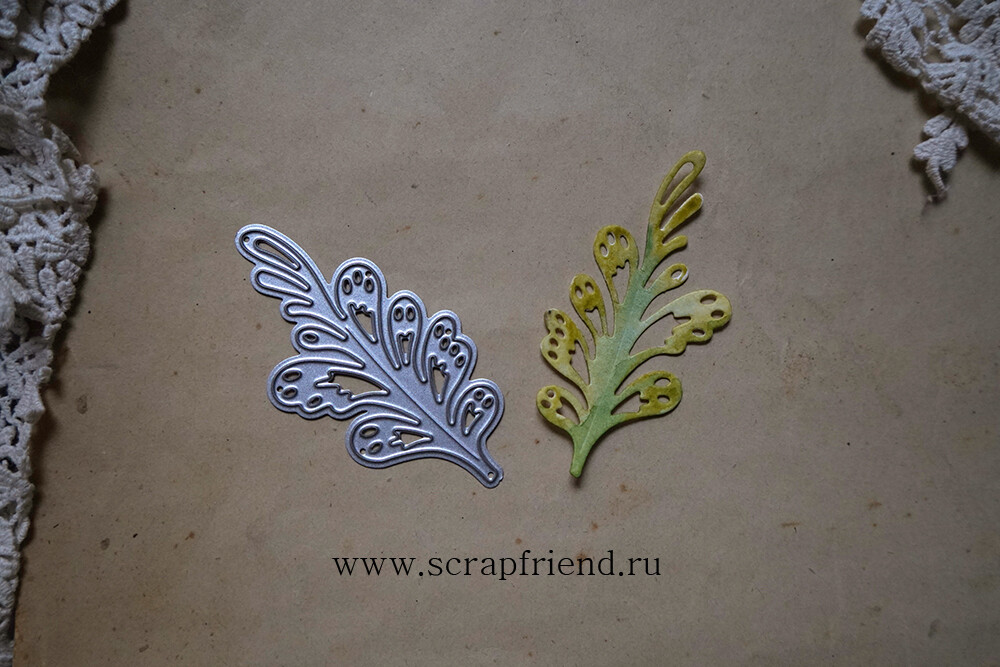 Die Fairytale - Magic grass, 6,7x3,2 cm, Scrapfriend