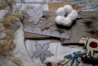 Dies Cotton, 3 pcs, Scrapfriend