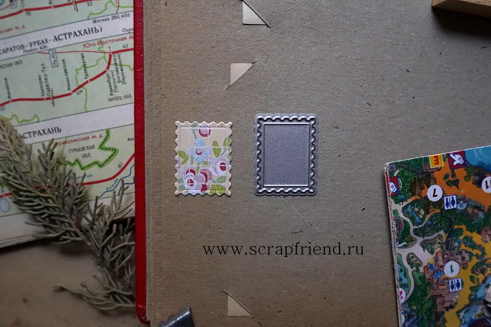 Die Stamp, 2x2,5 cm, Scrapfriend