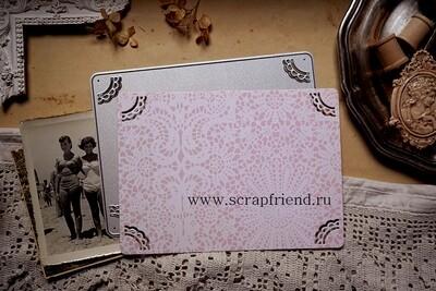 Die Dantella: Photoframe for 9x13 cm (3,5x5 inch) photo, Scrapfriend