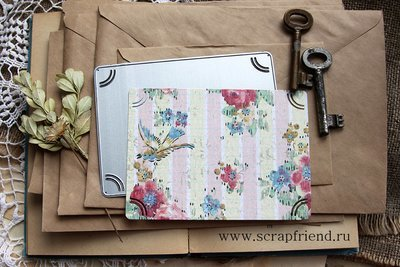 Die Panni: Photoframe for 9x13 cm (3,5x5 inch) photo, Scrapfriend