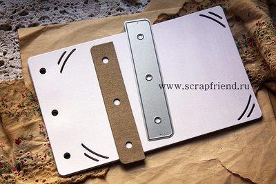 Дополняющий нож Вставка, 11х2см, Scrapfriend