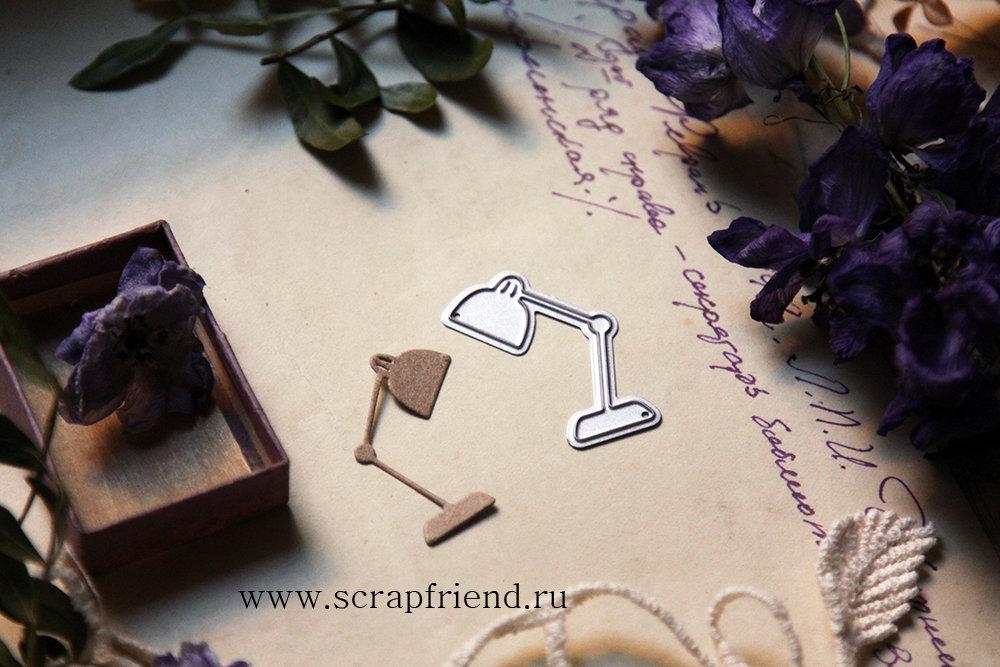 Die Lamp, 3,5x2,5 cm, Scrapfriend