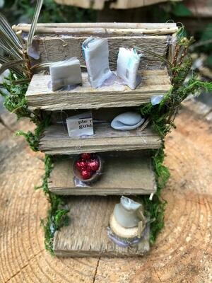 Handcrafted Fairy Book Case