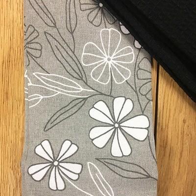 'Grey Floral' Kitchen Boa®