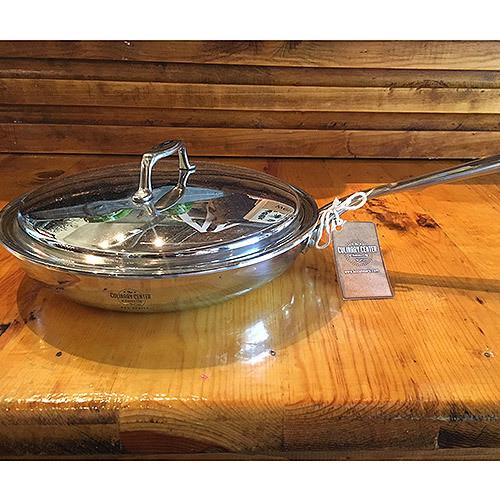"""'Eat Good Food' 10"""" Sauté Pan & Lid"""
