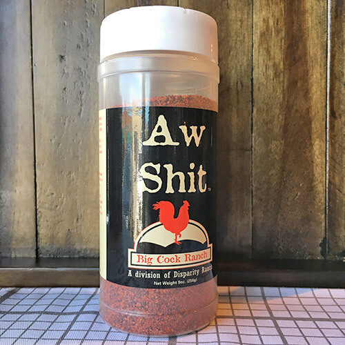 Aw Shit Seasoning and Rub